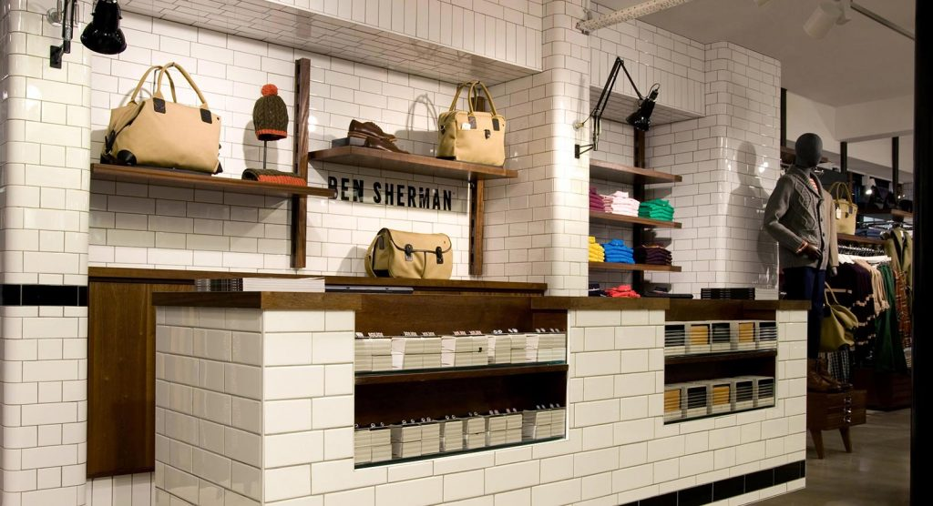 London Underground Tiles - Ben Sherman Tiling Project