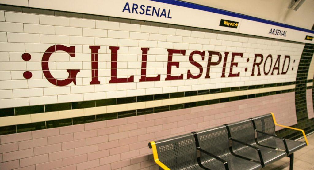 London Underground Tiles