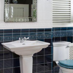 Period Embossed Ceramic Tile