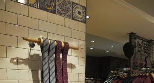 Ted Baker Store - Gold Tiles
