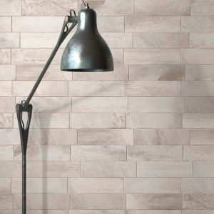 Wall detail in Light Grey Vari-Brick