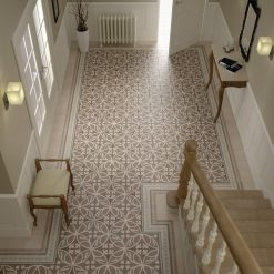 Capital Encaustic Effect Glazed Porcelain Floor Tile