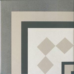 Capital Berlin Corner Encaustic Effect Tile