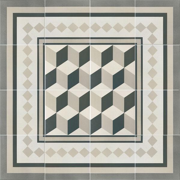 Capital Berlin Encaustic Effect Tiles