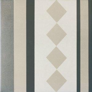 Capital Berlin Straight Encaustic Effect Tile