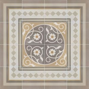 Capital Rome Encaustic Effect Tiles