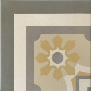 Capital Vienna Corner Encaustic Effect Tile