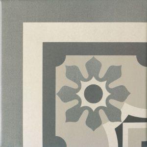 Capital Lisbon Corner Encaustic Effect Tile