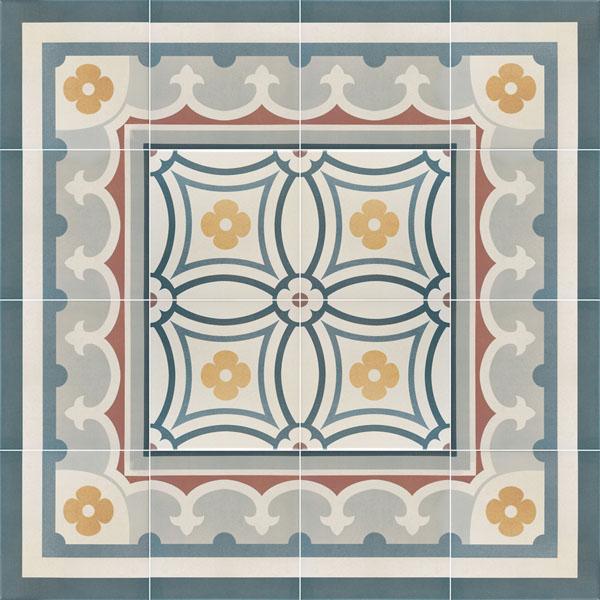 Capital Madrid Encaustic Effect Tiles