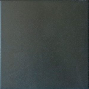 Capital Black Encaustic Effect Plain Tile