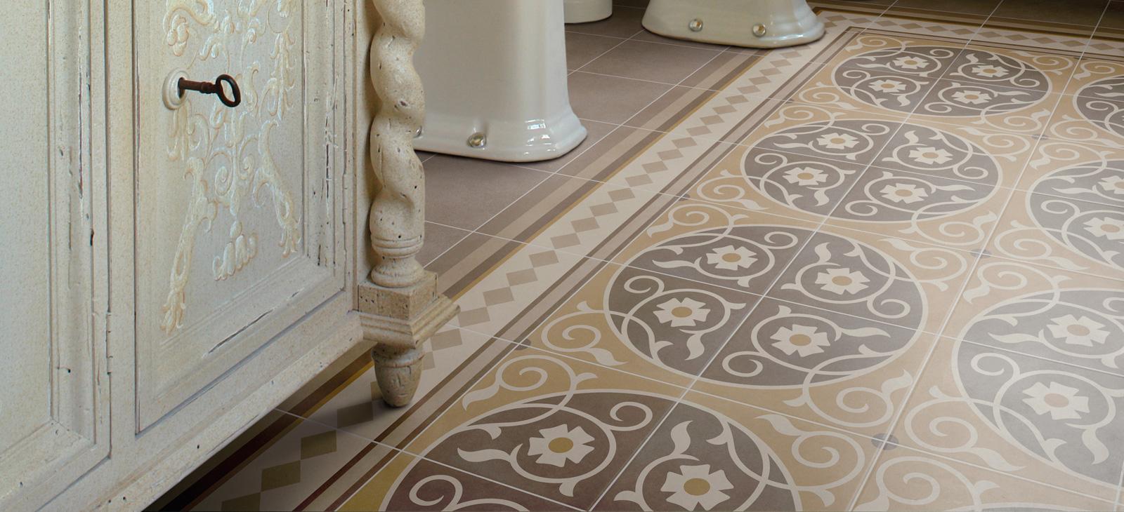 Capital Encaustic Effect Tiles