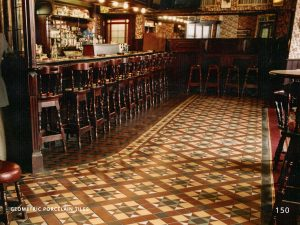 Geometric Porcelain Victorian Hallway Tiles