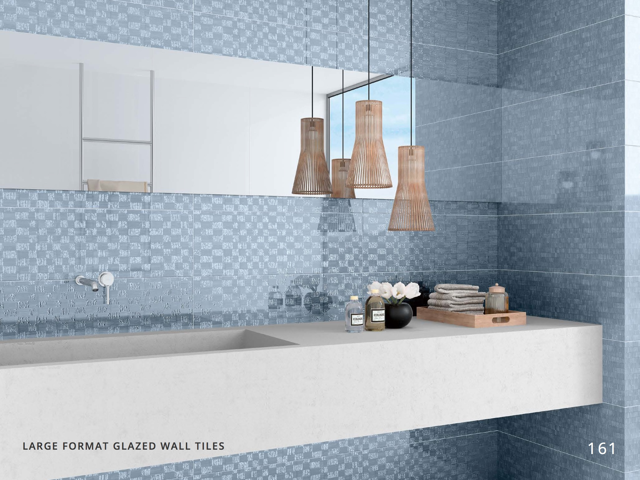 LARGE FORMAT GLAZED WALL TILES