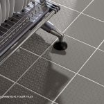 NON-SLIP COMMERCIAL FLOOR TILES