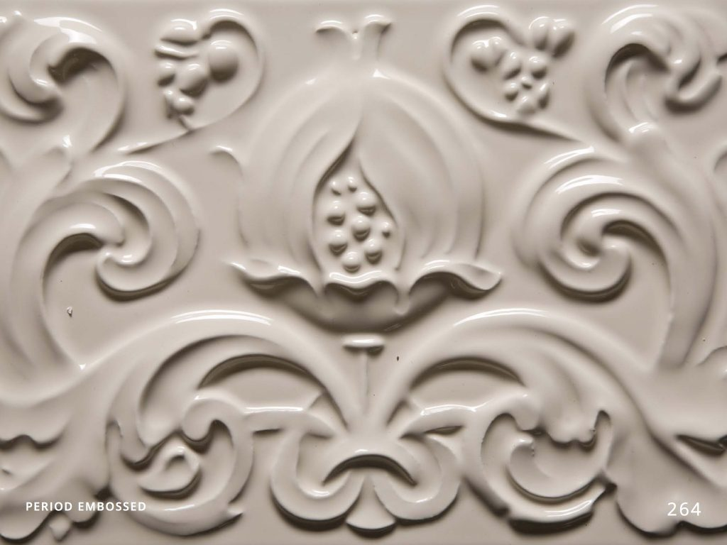 PERIOD EMBOSSED TILES
