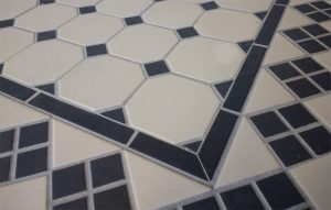 Victorian Hallway Tiles - Octagon Floor Tiles