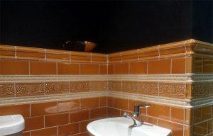 Black Brick Tiles