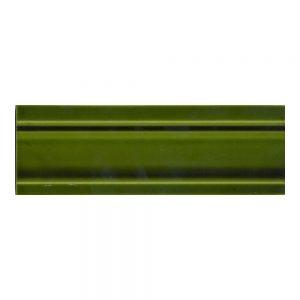 9x3 Dado Victorian Green Tile
