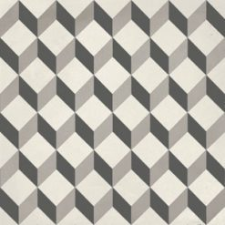Calais Cube Black Tile