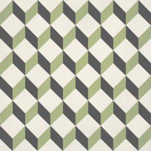 Calais Cube Lime Tile
