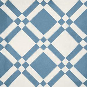 Calais Maison Blue Tile