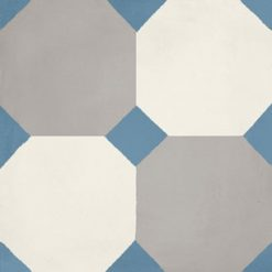 Calais Octagon Blue Tile
