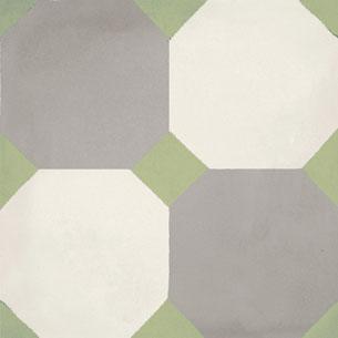 Calais Octagon Green Tile