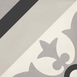 Calais Villa Black Tile